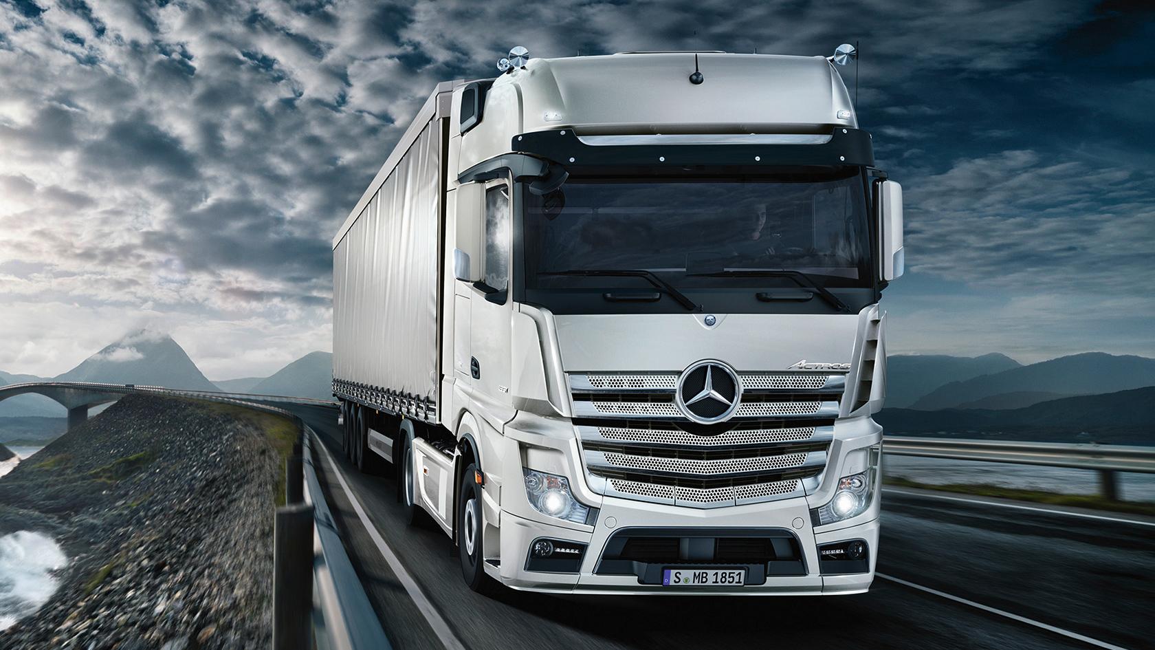 Передвинуть ограничение скорости на грузовике Мерседес Actros, Atego, Axor